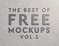 FREE - Mock Ups - Vol.1