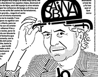 Joaquin Sabina calligram