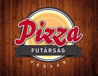 Pizzafutárság   Identity for a Pizza Delivery