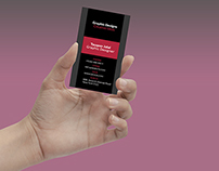 Free Business Card Template(Vertical)