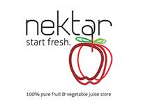 nektar juice store: start fresh