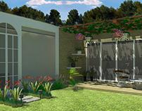 Diseño de Jardin - Propuesta Casa Habitación