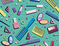 Material Girl illustration