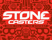 Stone Casters online game branding