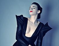 """Ambiguity of beauty"" fashion campaign"