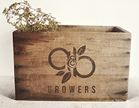 A&B Growers | Brand Identity; Packaging; Clothing