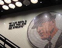 Nike Store Bowerman Art