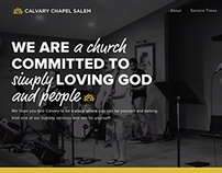 Calvary Chapel Salem Church Website Design