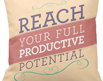 Reach Your Full Productive Potential Pillow