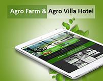 Agro Farm & Agro Villa Hotel Concept Design