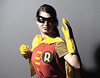 Homemade Super Heroes advertising