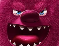 Fluffy evil