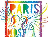paris city vector art royalty free images