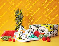 Bucketfeet X Schuh Stores Collaboration