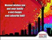 Monnet Steel Holi Mailer