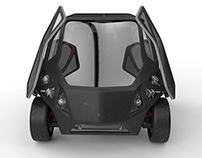 EXO - ELECTRIC CITY CAR CONCEPT (pre-engineering)