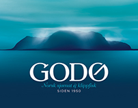 Godø (Naming, Visual Identity + Packaging)