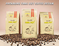Packaging Sang Viet Coffee Design