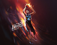 """The Victory Bringer"" - San Antonio Spurs wallpaper"