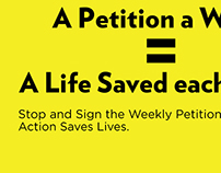 Amnesty International: A Petition a Week Campaign