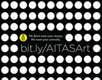 Amnesty International: We Want Your Art Poster