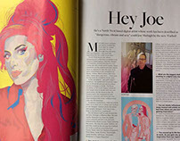 Cheshire Resident Magazine - Q&A - 'Hey Joe'