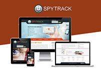 Spy Track Website Design