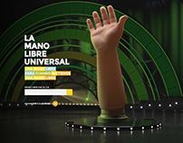 SHANDY MANO LIBRE UNIVERSAL