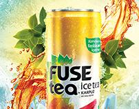 Fuse Tea / Print Ads