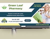 Pharmacy Billboard Template