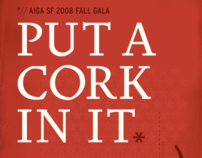 AIGA San Francisco Fall Gala: Put a Cork in It