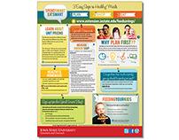Spend Smart Eat Smart Promotional Flyer