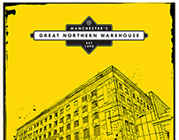 Manchester's Great Northern Warehouse, rebrand logo