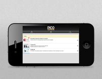 Pico mobile e web site