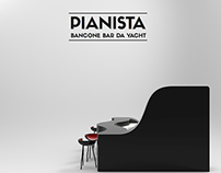 'Pianista' Yacht Bar Counter