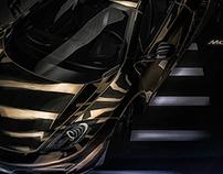 McLaren 12C 24K Gold Concept / Studio