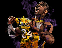 Smokin' NBA Portraits