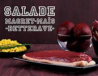 Salade Magret-Maïs-Betterave