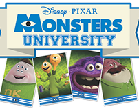 Monsters University Retail Set