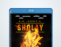 Sholay: Fan-art Blu-Ray Cover