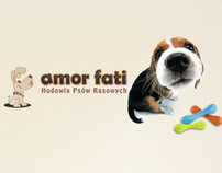 amor fati dogs breeding web&logo