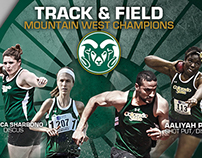 Colorado State University Athletics Facebook Graphics