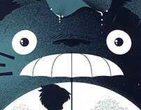 """My Neighbor Totoro"" by Guillaume Morellec"