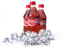 Coca-Cola and Sprite Bottles