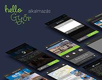 HelloGyőr Mobile Application