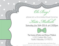 Kate's Baby Shower Invitation