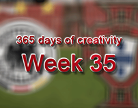 365 days of creativity/art - Week 35