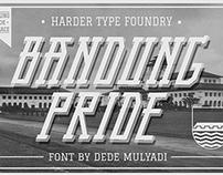 Bandung Pride fonts
