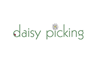 Logo design for craft brand daisy picking