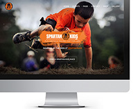 Spartan Race - Kids Website